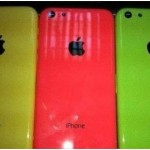 apple with  plastic casing colors