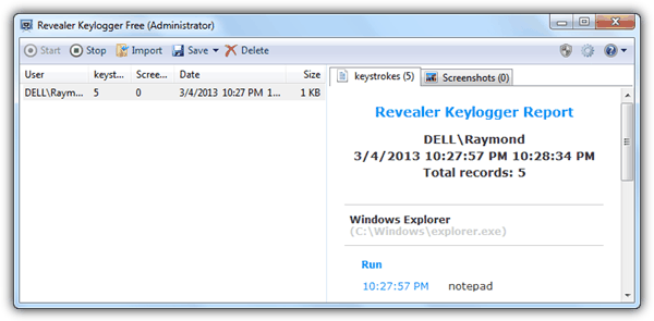 family keylogger invisible