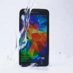 Ice Bucket Challenge of Samsung Galaxy S5