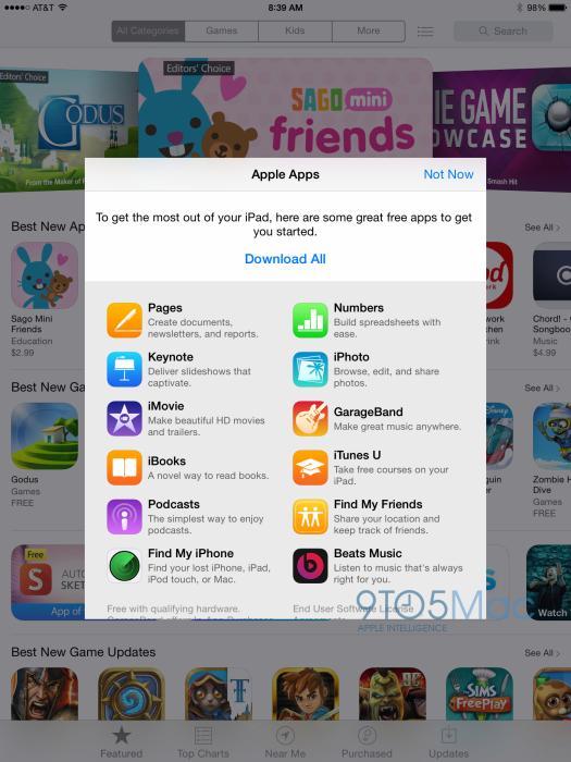 App Store of Apple