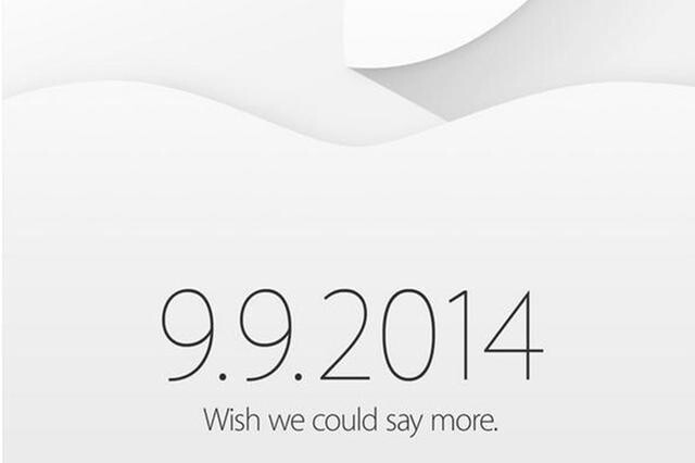 Apple Invitattion from Sept. 9 Event