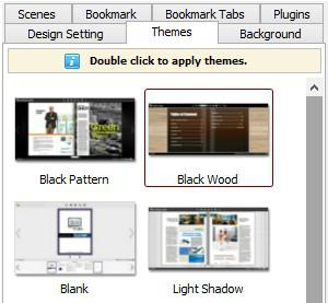 Apply Themes to Flipbook
