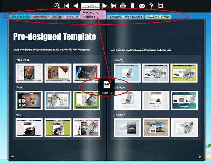 Flipbook Pre-designed Template