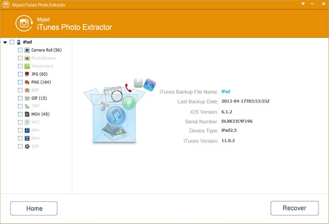 Check and Select Photo Files