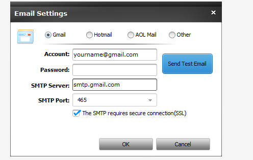 Email Setting