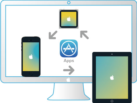 Transfer APPs Among iOS Devices